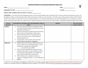 Drone Decision Making Template_African Drone Forum